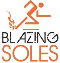 Logo: running stick figure